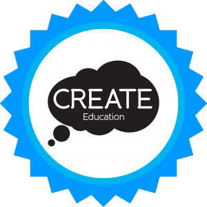 CREATE Badge Design